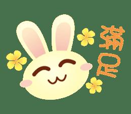 Little Rabbit Stickers sticker #6341842
