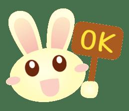 Little Rabbit Stickers sticker #6341843