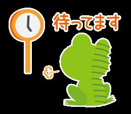 kaerunosapo-takun sticker #6344976