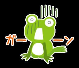 kaerunosapo-takun sticker #6344990