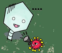 Meet The Phages 2 sticker #6373726