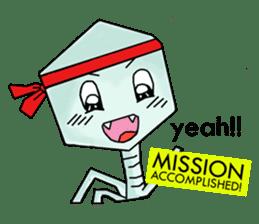 Meet The Phages 2 sticker #6373731