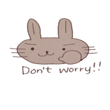 The Rabbit always with you sticker #6377959