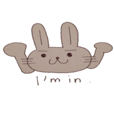 The Rabbit always with you sticker #6377962