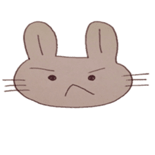 The Rabbit always with you sticker #6377963