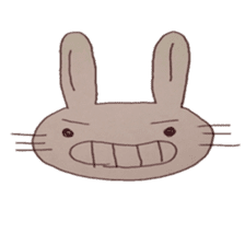 The Rabbit always with you sticker #6377965