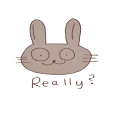 The Rabbit always with you sticker #6377971