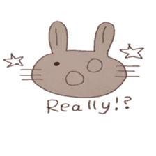 The Rabbit always with you sticker #6377977