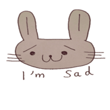 The Rabbit always with you sticker #6377979