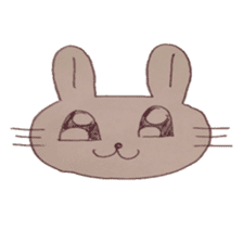 The Rabbit always with you sticker #6377983