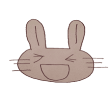 The Rabbit always with you sticker #6377987