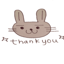 The Rabbit always with you sticker #6377988