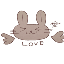 The Rabbit always with you sticker #6377991