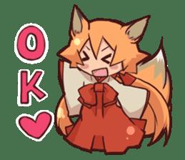 KITSUNEMIKO sticker #6381880