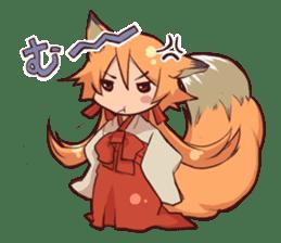 KITSUNEMIKO sticker #6381883