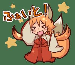 KITSUNEMIKO sticker #6381884