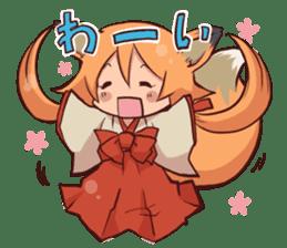 KITSUNEMIKO sticker #6381886