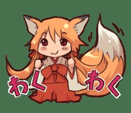 KITSUNEMIKO sticker #6381887