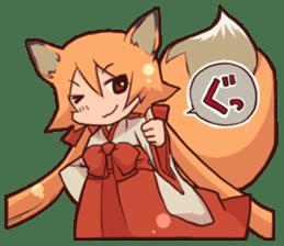 KITSUNEMIKO sticker #6381890