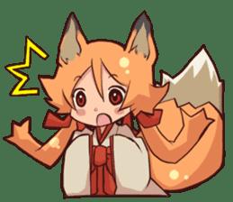 KITSUNEMIKO sticker #6381892