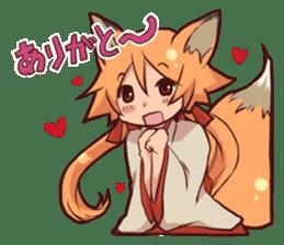 KITSUNEMIKO sticker #6381893