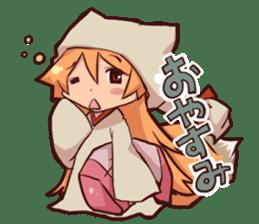 KITSUNEMIKO sticker #6381897