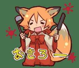 KITSUNEMIKO sticker #6381898