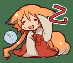 KITSUNEMIKO sticker #6381899