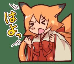 KITSUNEMIKO sticker #6381903