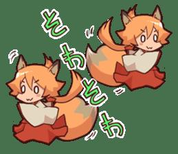 KITSUNEMIKO sticker #6381908