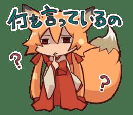 KITSUNEMIKO sticker #6381909