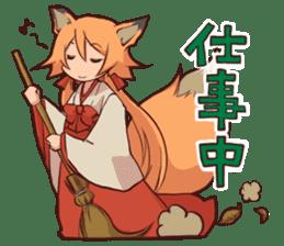 KITSUNEMIKO sticker #6381914