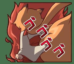 KITSUNEMIKO sticker #6381917
