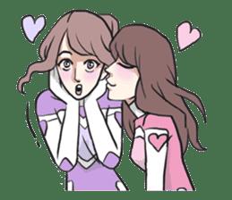 AsB - Kokoro 7 Heart Ranger (Love Pink) sticker #6385055
