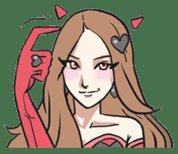 AsB - Kokoro 7 Heart Ranger (Love Pink) sticker #6385068