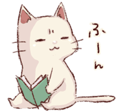 frown cat sticker #6386125