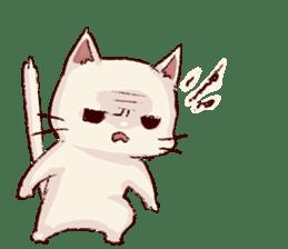 frown cat sticker #6386137