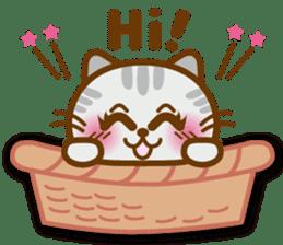 Cute kitty cats 2 sticker #6390121