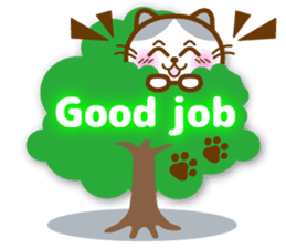 Cute kitty cats 2 sticker #6390123