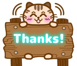 Cute kitty cats 2 sticker #6390126