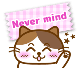 Cute kitty cats 2 sticker #6390128