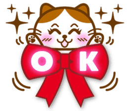 Cute kitty cats 2 sticker #6390131