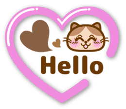 Cute kitty cats 2 sticker #6390139