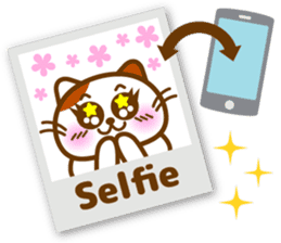 Cute kitty cats 2 sticker #6390141