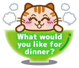 Cute kitty cats 2 sticker #6390144