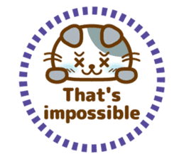 Cute kitty cats 2 sticker #6390149