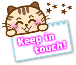 Cute kitty cats 2 sticker #6390153