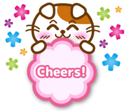 Cute kitty cats 2 sticker #6390156