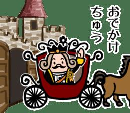 I am The King sticker #6391522