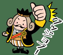 I am The King sticker #6391524